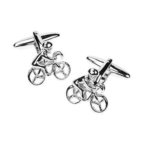 racing-cyclist-silver-cufflinks