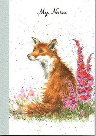 wrendale-designs-n027-fox-foxglove-a5-notebook