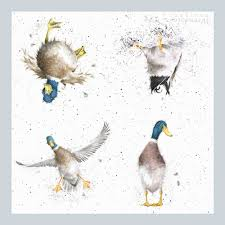 wrendale-designs-waddle-quack-duck-paper-napkins-unfolded