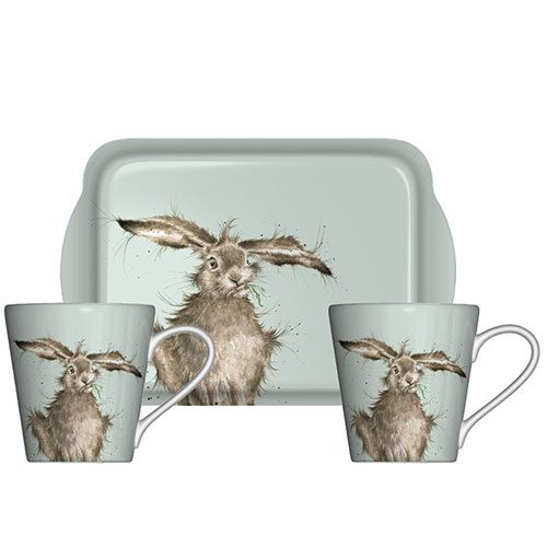wrendale-designs-hare-mugs-and-tray-set-hannah-dale