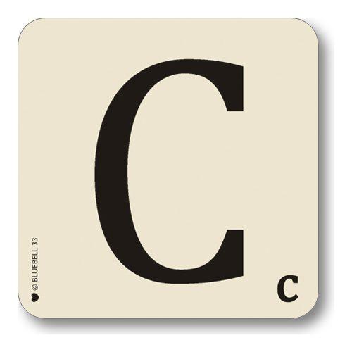 bluebell-letter-c-scrabble-alphabet-typography-melamine-coaster