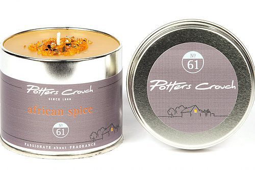 Potters Crouch African Spice Scented Candle Tin