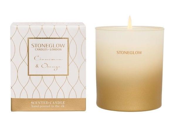 6707 Stoneglow Cinnamon Orange Scented Candle Tumbler