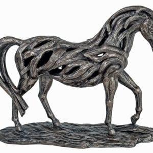 rr012-mindy-bronw-genesis-assured-horse-bronze-sculpture