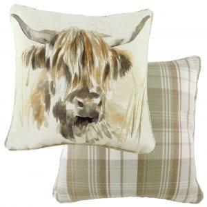 watercolour-highland-cow-cushion