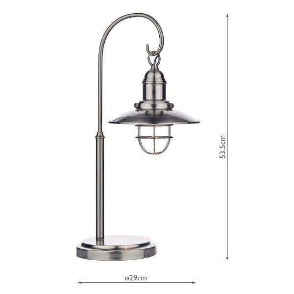 measurements-ter4261-dar-lighting-antique-chrome-terrace-table-lamp