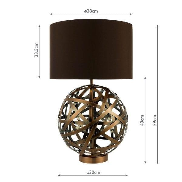 measurements-voy4264-voyage-table-lamp-dar-lighting-copper-metal-base