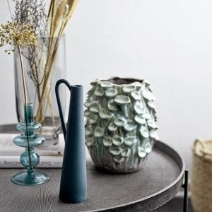 bloomingville-green-stoneware-vase-coffee-table-flower-display-glazed-flower-pot