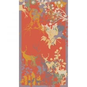 powder-stag-silhouette-print-scarf-open