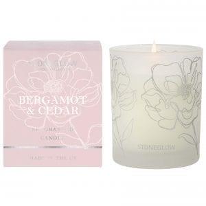 stoneglow-day-flower-bergamot-cedar-scented-candle