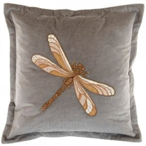 voyage-maison-arla-grey-beaded-dragonfly-velvet-cushion