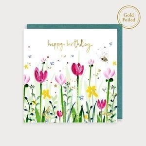 flora01-birthday-tulips-louise-mulgrew-greetings-card