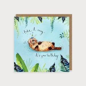 ott05-its-your-birthday-otter-louise-mulgrew-greetings-card