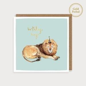 saf05-lion-birthday-gold-foil-louise-mulgrew-greetings-card