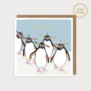 saf20-party-time-penguins-louise-mulgrew-greetings-cards