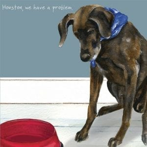 sqd94-houston-the-little-dog-laughed-german-pointer-greeting-card
