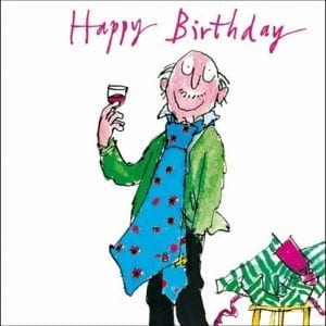 woodmansterne-quentin-blake-glad-rags-male-birthday-card