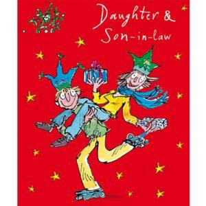 woodmansterne-quentinblake-christmas-cards-daughter-soninlaw