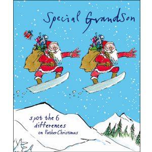 woodmansterne-quentinblake-christmas-cards-special-grandson