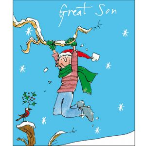 woodmansterne-quentinblake-christmas-cards-son