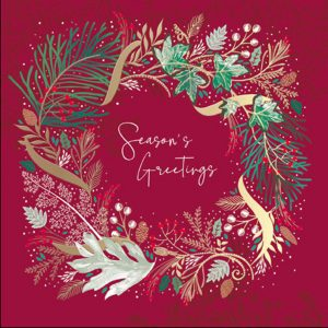 woodmansterne-christmas-cards-all-of-you-family-friends-wreath