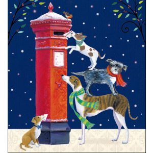 woodmansterne-christmas-cards-all-of-you-family-friends-post-box-dogs