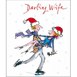 woodmansterne-quentinblake-christmas-cards-couple-skating-wife