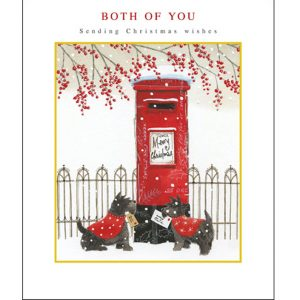 woodmansterne-christmas-cards-all-of-you-family-friends-post-box-dogs-letters