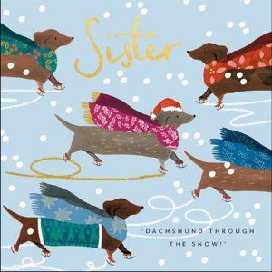 woodmansterne-quentinblake-christmas-cards-sister-daschund