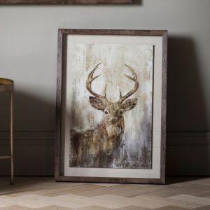 highland-stag-framed-art