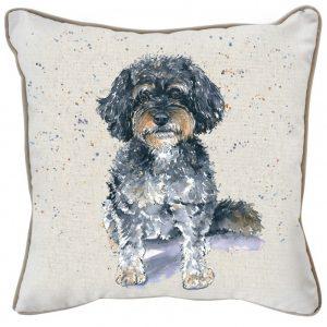cavapoo-watercolour-cushion