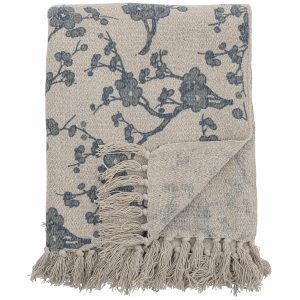 bloomingville-catin-throw-blue-recycled-cotton