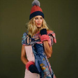 jazz-mice-print-scarf-set